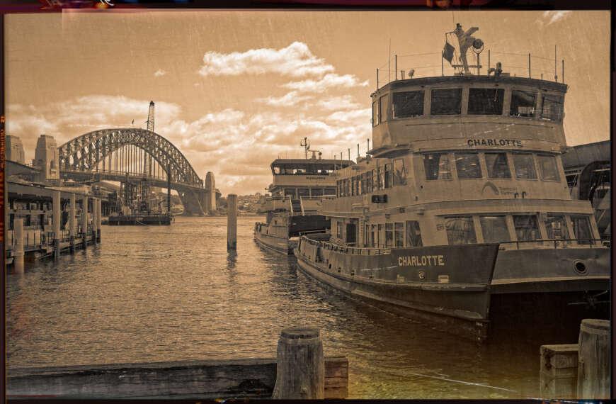 Ye Olde Photo of Circular Quay