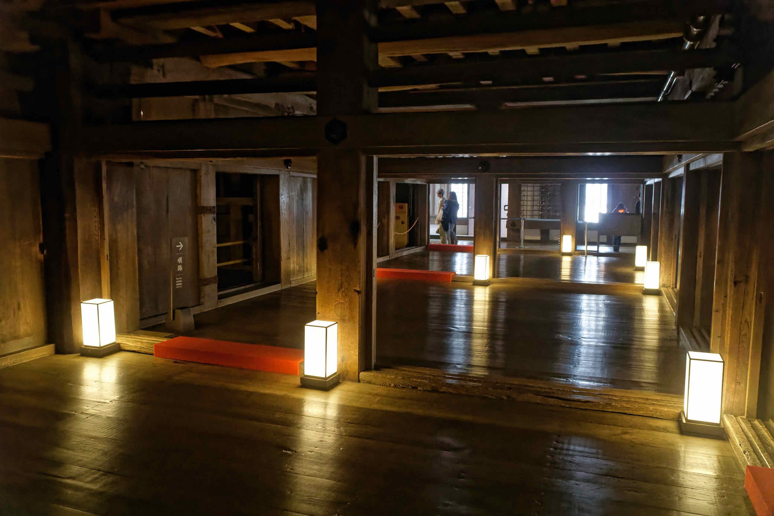 inside main keep