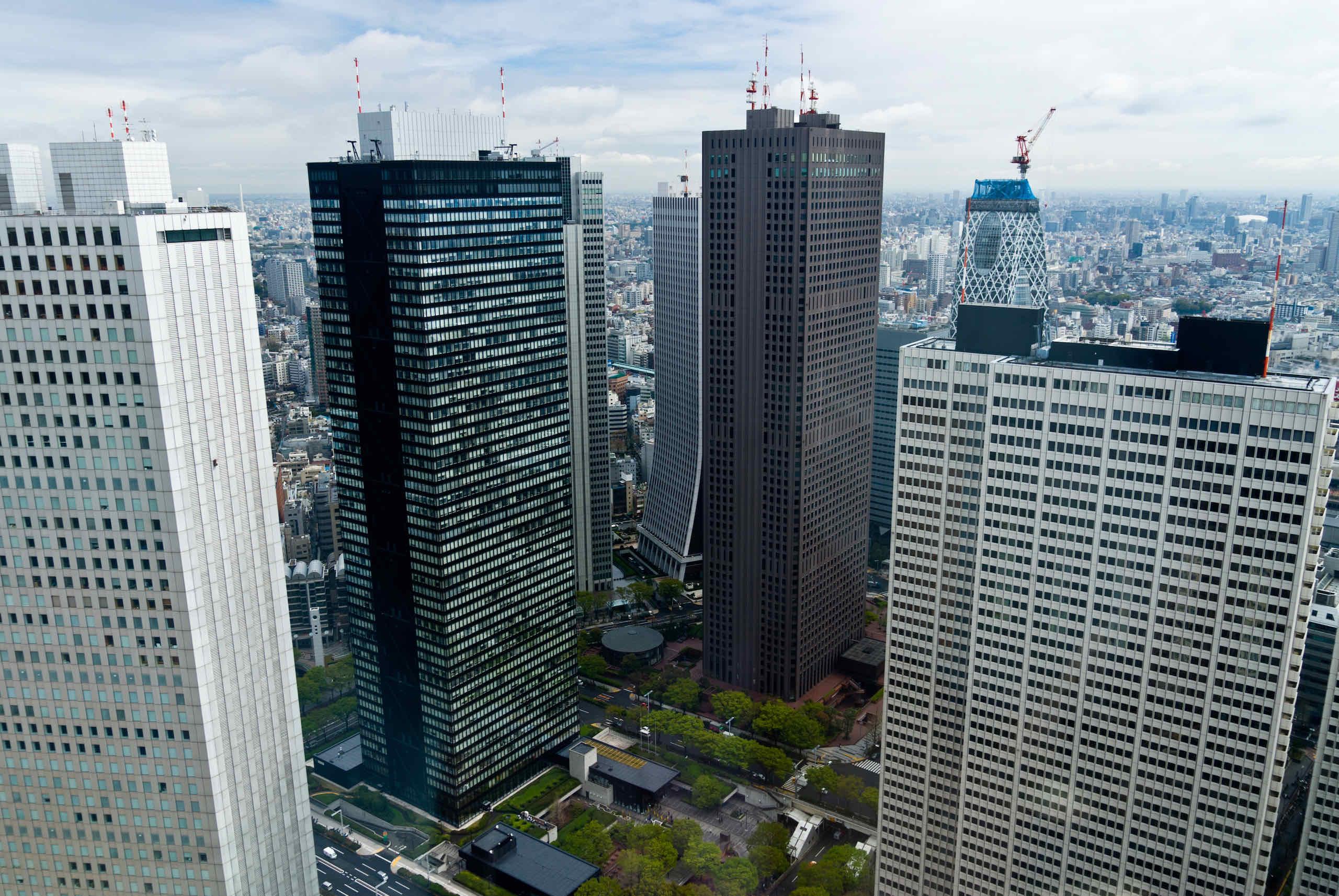 sumitomo, mitsui, shinjuku center, keio plaza