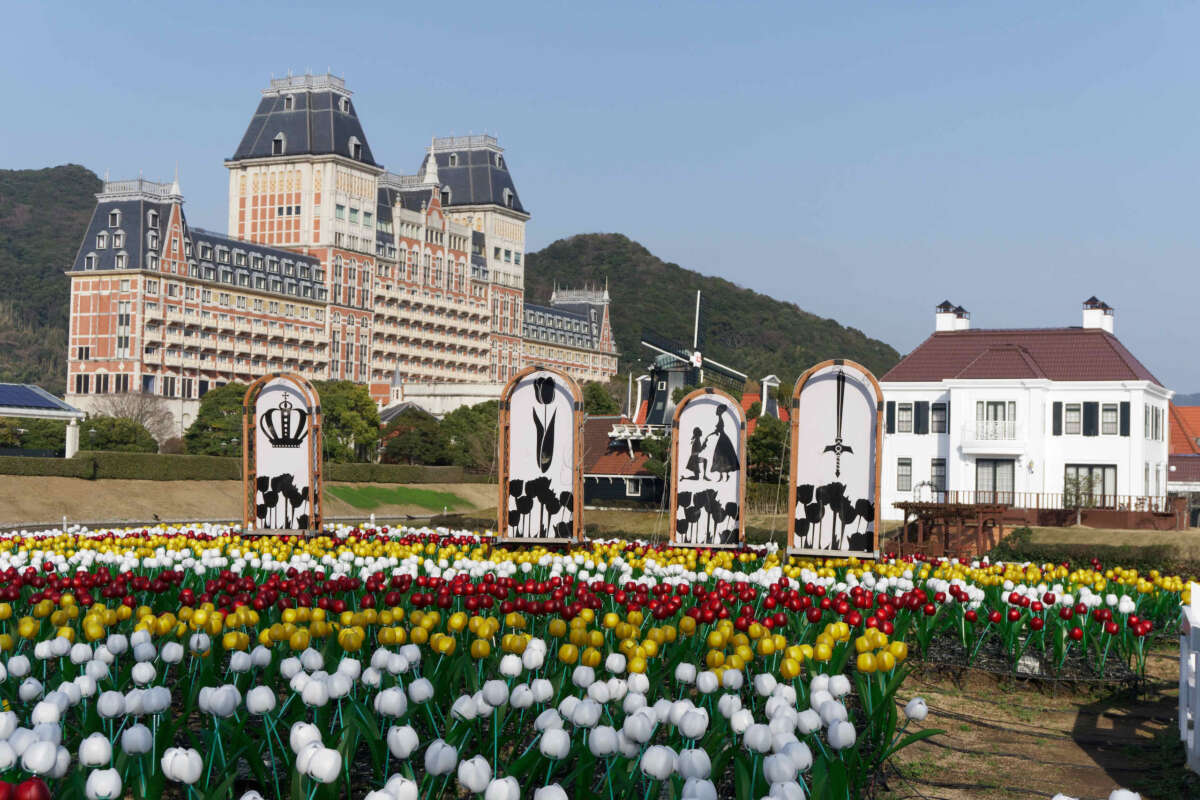 tulips and hotel okura jr