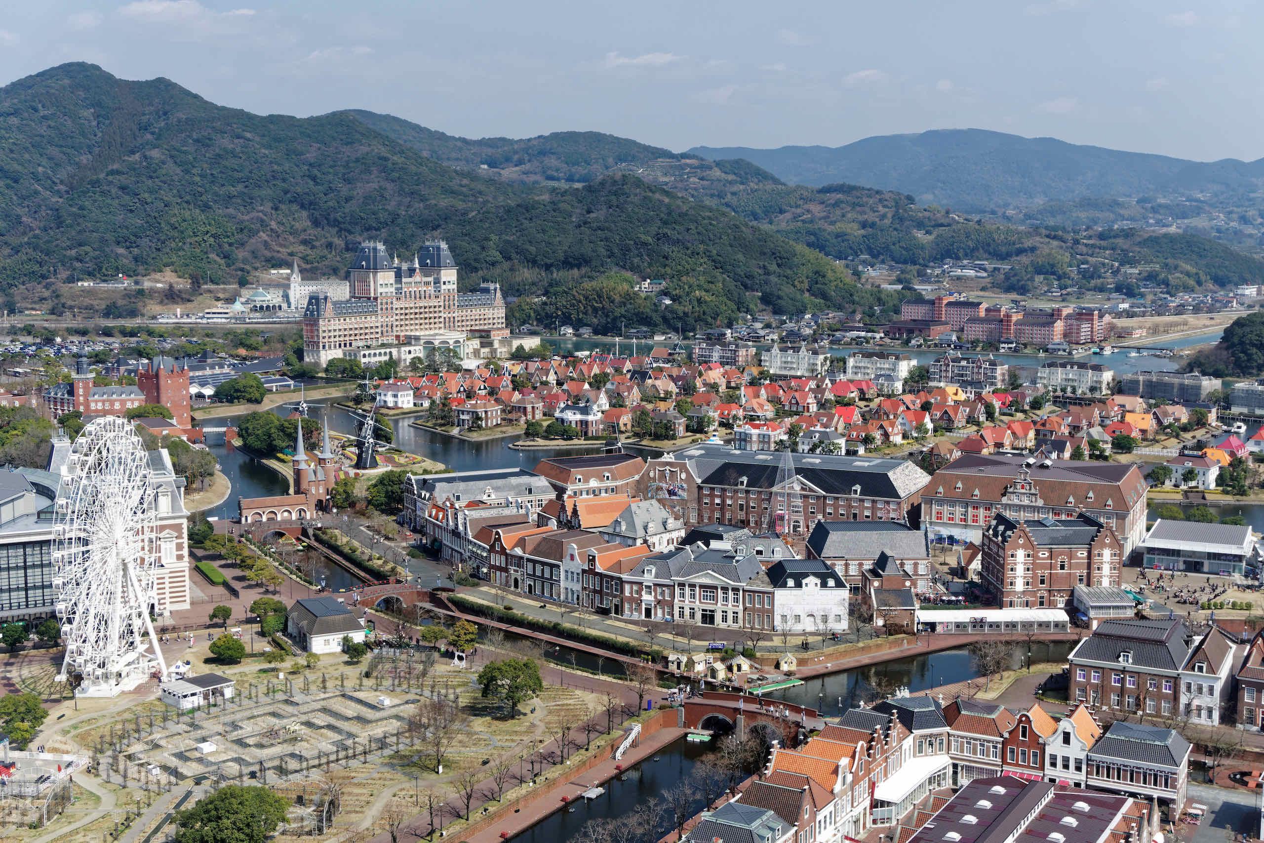 wassenaar and attraction town, ferris wheel